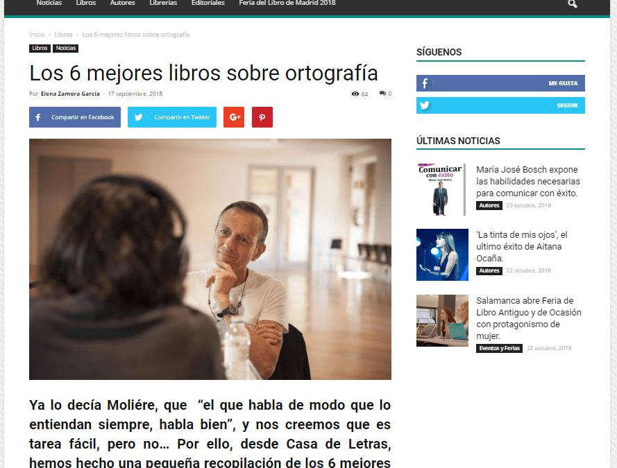 El GuíaBurros: Hablar y escribir con corrección, considerado como uno de los mejores libros sobre ortografía